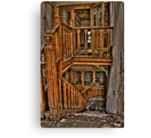 The Grand Staircase Canvas Print