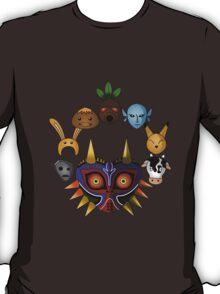 Lots of masks! T-Shirt