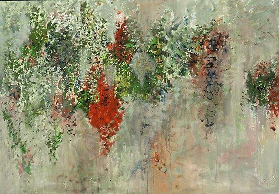 """Exuberance"", Copyright Chitra Ramanathan 2008. Private collection, New York by Chitra Ramanathan"