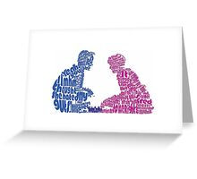 Sixteen Candles Quoted Image  Greeting Card