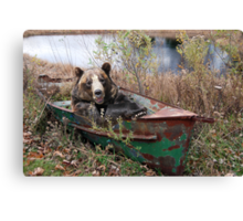 Rough 'n Ready Canvas Print