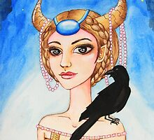 Zodiac Girl - Taurus by meihsialiu
