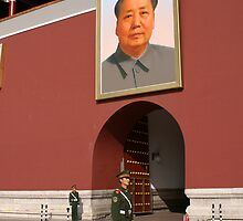 Guarding Mao by Jeff Jones