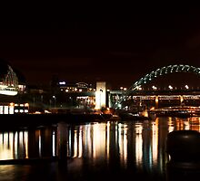 Tyne Bridge(s) + The Sage by Robert Worth