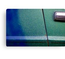 Car Door. Paint Re Spray Canvas Print
