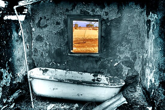 The Kids Bathroom...On an Average Day by Michael  Bermingham