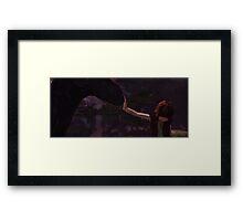 Vikings and Dragons Framed Print