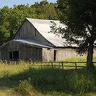 Big Gray Barn by Teddie McConnell