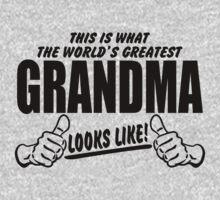 WORLDS GREATEST GRANDMA LOOKS LIKE by bekemdesign