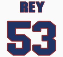 National football player Vincent Rey jersey 53 by imsport