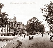 Chapel Road, Worthing, West Sussex. by CentenaryImages