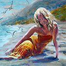 Beach Girl by menqtsai