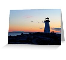 Peggy's Lighthouse Greeting Card