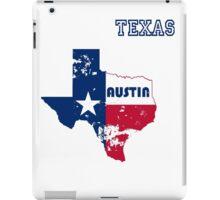 Austin Texas. Alternative version. As worn by Kurt. iPad Case/Skin
