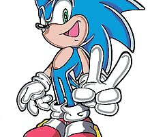 Peace from Sonic by BelovedxCisque