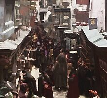 Diagon Alley by Kaleigh Dominguez