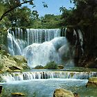 waterfall of Hanabanilla, Cuba by chord0