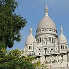 Sacre Coeur cathedral- Paris by chord0