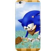 Sonic and the Hedgehog iPhone Case/Skin