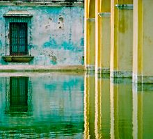 Antigua Reflection by Skip Hunt