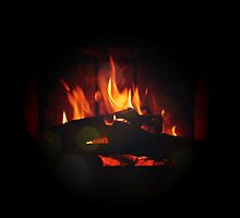 Christmas Fire by Claire Elford
