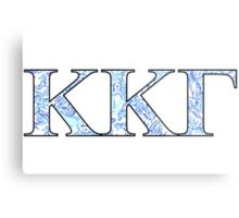 KKG Lilly Print Letters Metal Print