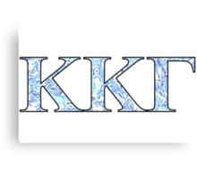 KKG Lilly Print Letters Canvas Print