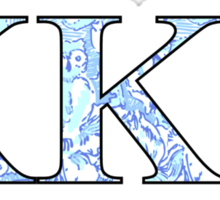 KKG Lilly Print Letters Sticker