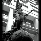 Statue at Pitt Street by Zeevat Tuladhar