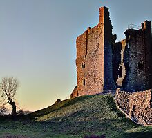 Brough Castle by Wickerman