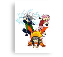 Naruto Team 7 Canvas Print