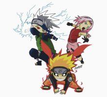 Naruto Team 7 Kids Clothes
