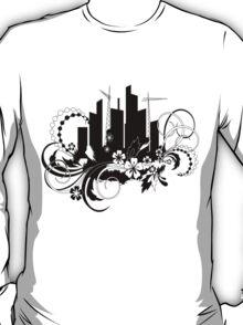 floral urban T-Shirt