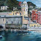 View of Vernazza by Jennifer Lycke