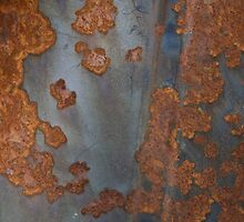 Automobile Rust Texture 4 by wetdryvac