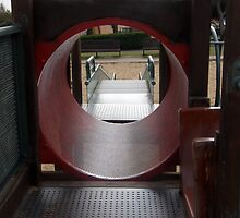 The tube at the park by Michael Redbourn