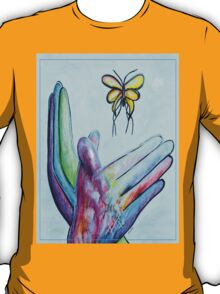 American Sign Language BUTTERFLY T-Shirt