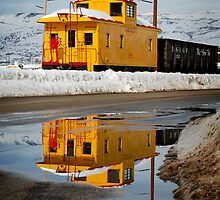 We all live in a yellow caboose by malan