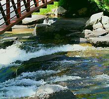 Water Under The Bridge  by Madeline M  Allen