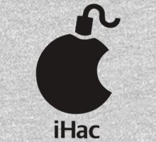 iHac(k) - Black Artwork Kids Clothes