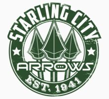 Starling City Arrows V01 T-Shirt