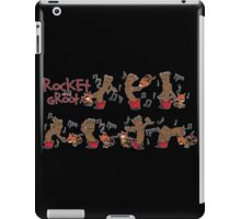 Rocket and Groot iPad Case/Skin