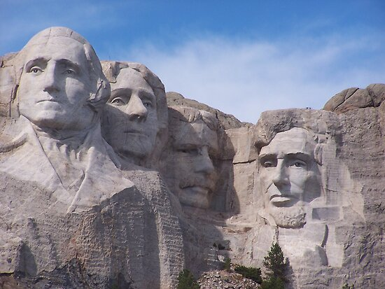 Mount Rushmore Up Close and Personal by Carolyn Bishop