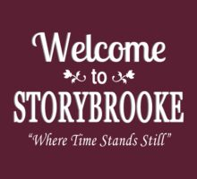 Once Upon A Time in Storybrooke White by waywardtees
