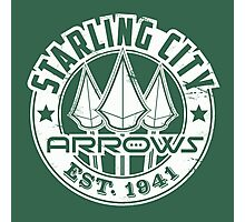 Starling City Arrows Version V02 Photographic Print