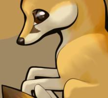 Cutie Fennec Fox Sticker