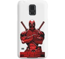 Deadpool - meet the cure Samsung Galaxy Case/Skin