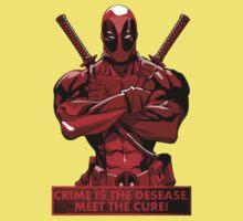 Deadpool - meet the cure Kids Clothes