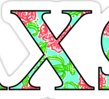 AChio Lilly Letters Sticker