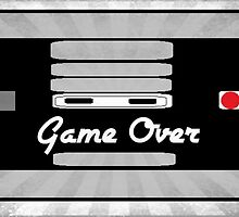 Nintendo Controller Game Over by SeedyRom